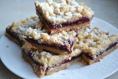 Blackberry Jam Shortbread Bars