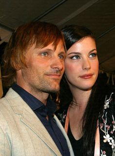 Viggo and Liv - is it weird that I think they would beautiful couple beyond LOTR?