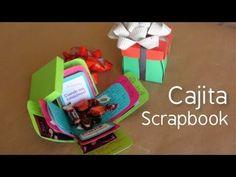 Cajita scrapbook // carta + regalo original  [Exploding box]