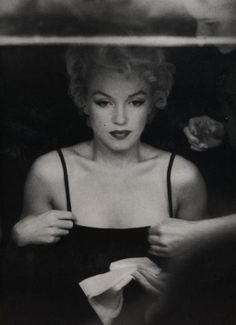 Marilyn Monroe photographed by Sam Shaw, 1955. by rosybud