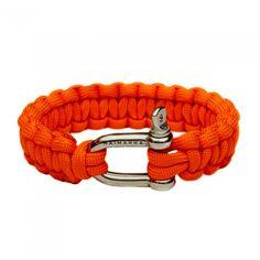 Naimakka Neon Orange Paracord Bracelet