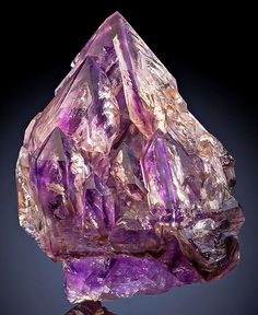 From the Goboboseb Mts, Brandberg Area, Erongo Region, Namibia. Credit ExceptionalMinerals Visit Amazing Geologist for more. Minerals And Gemstones, Rocks And Minerals, Diamond Picture, Rare Gems, Beautiful Rocks, Mineral Stone, All Things Purple, Rocks And Gems, Amethyst Crystal