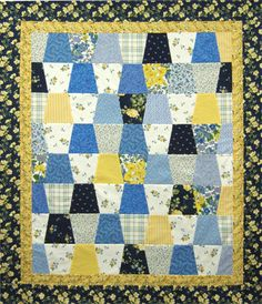 Tumbler Quilt by Marti Michell, cut with our multi-size Tumbler template.  http://www.frommarti.com/tumbler_templates.shtml