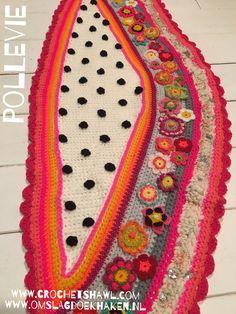 Www.crochetshawl.com Www.omslagdoekhaken.nl Pollevie