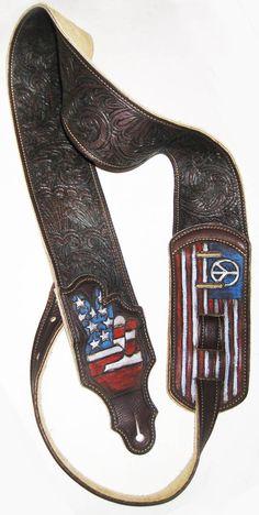 burnmethod, guitar, strap, pyrography, custom, wood burning, engraved…