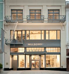 Mulberry store, San Francisco store design