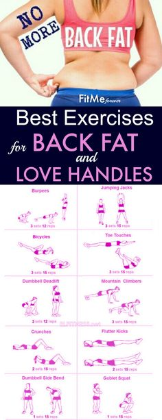 Best Exercises for Back Fat and Love Handles | Posted By: NewHowToLoseBellyFat.com