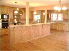 natural knotty alder cabinets - Google Search