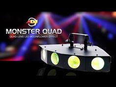 ADJ Monster Quad - YouTube