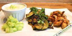 Low Carb Rezept - Zucchinigemüse mit Putenwürfeln auf lebelowcarb.de