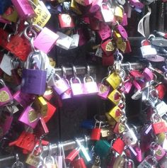 Locks in Verona -- (Discover Sojasun Italian Facebook, Pinterest and Instagram Pages!)