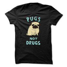 View images & photos of Pugs Not Drugs t-shirts & hoodies