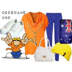 Numbuh 4 - Codename: Kids Next Door Fandom Fashion, 90s Fashion, Love Fashion, Womens Fashion, Cartoon Fashion, Cartoon Outfits, Anime Outfits, Group Halloween Costumes, Halloween Ideas