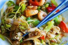 Receita de Salada de frutos do mar