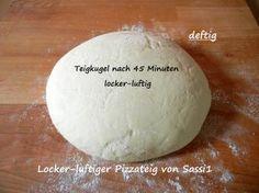 Foto Rezept Locker-luftiger Pizzateig