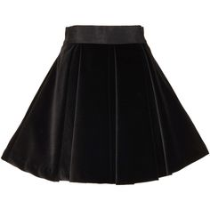 Alice + Olivia Jolynn Full Mini Skirt ($350) ❤ liked on Polyvore featuring skirts, mini skirts, black, silk top, button down top, neck ties, silk neck ties and neck-tie