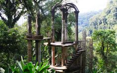 Las Pozas, Xilitla, Mexico. A fantasia of structures by British eccentric Edward James in the middle of a Mexican rain forest.