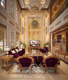Thiết kế nội thất tân cổ điển - Biệt thự Nghệ An » Tân Cổ Điển   Thiết kế nội thất   Thiết kế kiến trúc