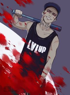 Life is a game, so lvl up by Kyoux.                       This reminds me of Ronan.