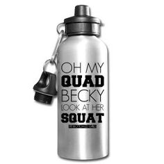 Oh My Quad Becky Water Bottle   Fit Bottomed Girls