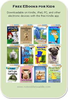 Awesome list of free ebooks today, I filled up the 40 spots on the listamania feature on Amazon. Tons of great picture books!