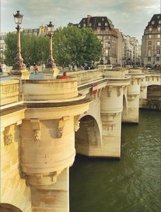 Pont Neuf is the oldest bridge in Paris..