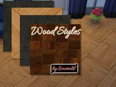 My Sims 4 Blog: emerald's Wood styles