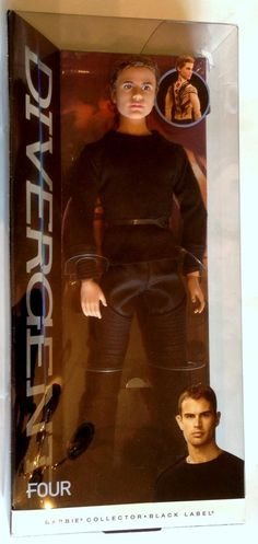 Barbie Collector Divergent Four Fashion Doll Tobias Eaton Theo James OH MY GAWD