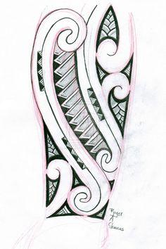 Tribal Tattoo Design by Hrothgar1979.deviantart.com on @deviantART