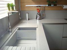 Granito, Corian, Silestone ou aço inox para a bancada da cozinha? - Quintela Torres - Quintela Torres