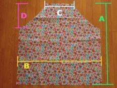 子供のかわいいエプロンの簡単な作り方!三角巾も一緒に簡単手作り | MARCH(マーチ) Kids Apron, Children, Handmade, Young Children, Boys, Hand Made, Kids, Child, Kids Part