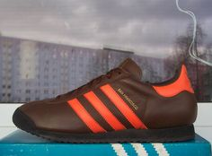 Adidas San Francisco is a brown and orange delight