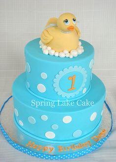 Rubber Ducky Cake by springlakecake, via Flickr