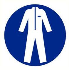#Pictogrammen / ISO 7010 / #Gebodspictogrammen / Bescherm werkkleding verplicht