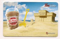 "2013 - Iced Capp Sand Castle - USA - FD 35161. This card has USD$ and ""Cafe & Bake Shop"" crest on the back of the card. I do not know if Canada issued a 2013 Iced Capp card."