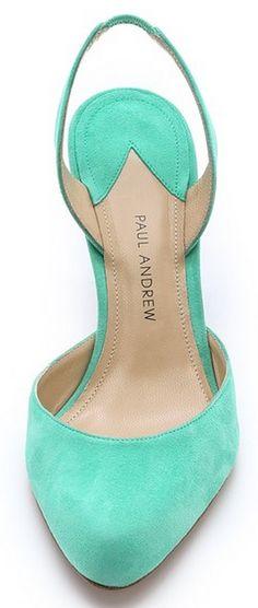 mint slingback heels http://rstyle.me/n/v2ysapdpe