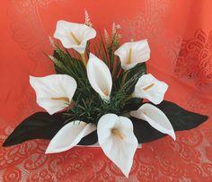 Arranjo Floral Artificial Copo de Leite - 20609268 | enjoei :p