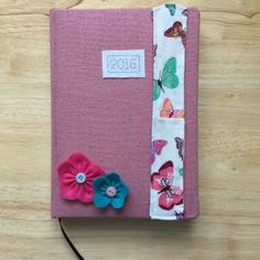 Finding your notebook uninspiring? Kick start your imagination with a little bit of fabric! - H
