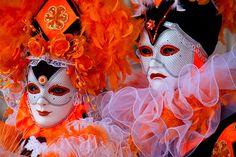 Carnivale mask & costume ~ 16786 - ID: 9793120 © Jim  Zuckerman