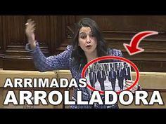 """★ESTELAR★ Inés ARRIMADAS """"REVIENTA"""" al INDEPENDENTISMO en el Pleno de NO Investidura de Turull - YouTube"""