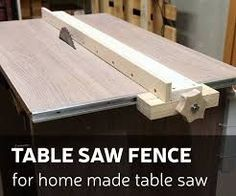 This time I& make a table saw fence for my homemade table saw. - - This time I& make a table saw fence for my homemade table saw. How I did it - you can check by looking DIY video or you can. Diy Table Saw Fence, Home Made Table Saw, Table Saw Sled, Table Saw Jigs, Make A Table, Workbench Table, Router Table, Woodworking Projects Diy, Woodworking Jigs