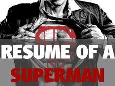 Jarkko Sjöman: My viral resume #Superman