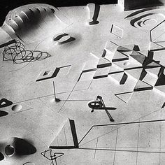 SORN/Design: Isamu Noguchi's early scale model displaying his proposal for a playground | sornmag.com