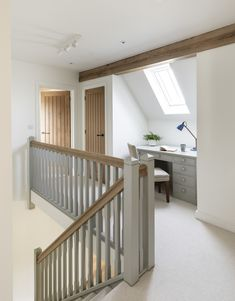 Attic Bedroom Designs, Hallway Designs, Attic Rooms, Attic Spaces, Loft Room, Bedroom Loft, Design Loft, House Design, Design Design