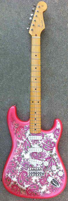 2002 Fender Paisley Stratocaster Guitar $716.00