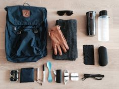 What's in the bag? submitted by Rogier Fjallraven Foldsack No.1 Daypack Autumn Leaf Ray-Ban RB2132 New Wayfarer SunglassesBlack Frame/G-15-XLT Lens52 mm Longhorn leather gloves Scarf Contigo Coffee Thermos Join the Pipe Water bottle Microfiber Lens Cleaning Cloth Ray-Ban Glasses Hard Case Barkley's Tin IKEA Folding shopping bag Opinel No. 7 Sharpie Marker Light my Fire Spork Lab31 Powerbank 4400 mAh Apple iPhone Charger Apple In-Ear Headset LED Flashlight Winter edition.
