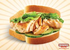 Grilled Salmon Sandwich from www.Dempsters.ca