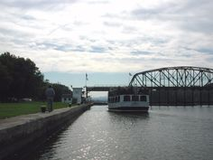 Erie Canal Lock 11. Amsterdam, NY watched a few boats come thru here
