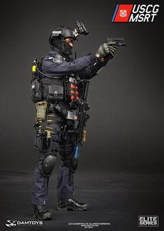 """toyhaven: Dam Toys 1/6 scale U.S. Coast Guard MSRT (Maritime Security Response Team) 12"""" figure"""