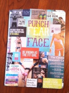 PUNCH FEAR IN THE FACE!! Why you should keep a workout journal! fitness workout ab-workout workout abs fitness my-top-pins